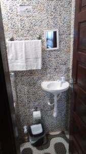A bathroom at Espaço das Estrelas Praia do Forte