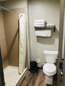 A bathroom at BEL AIR MOTEL