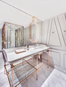 A bathroom at The Prestige Hotel Penang