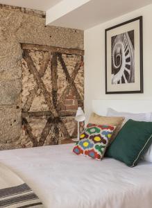 Cama o camas de una habitación en Porto River