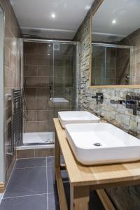 A bathroom at The Venue Serviced Apartments