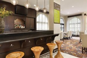 A restaurant or other place to eat at Hilton Garden Inn Cupertino