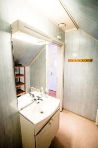 A bathroom at Utsira Overnatting - Fyrvokterboliger