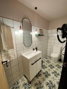 A bathroom at HoGraFic hotel boutique