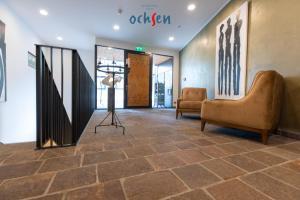 Lobby/Rezeption in der Unterkunft Boutique Hotel OchSen