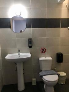 A bathroom at Meteora House- Cozy Living