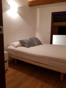 Cama o camas de una habitación en Sa Petita Chalet