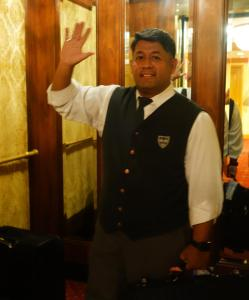 Staff members at Hotel Elysee by Library Hotel Collection