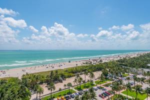 A bird's-eye view of W South Beach Residences 1BR Ocean View