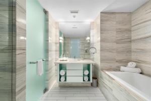 A bathroom at W South Beach Residences 1BR Ocean View