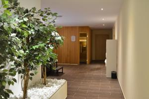 The lobby or reception area at Boutique Hotel Wolfsburg