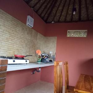 Küche/Küchenzeile in der Unterkunft Mulia Home Stay
