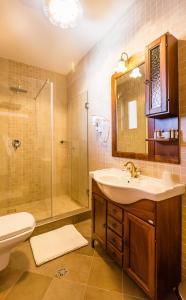 A bathroom at Dacii Liberi Resort and Spa