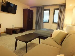 Część wypoczynkowa w obiekcie Hotel Eco