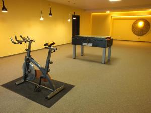 Centrum fitness w obiekcie Hotel Eco