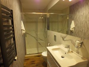 Łazienka w obiekcie Hotel Eco