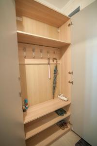 A bathroom at I Горнолыжникам и Биатлонистам apartment on Komsomolskaya 279a