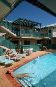 The swimming pool at or near Heritage Resort Shark Bay