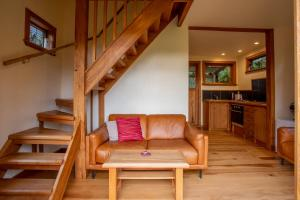 A seating area at Kahere Retreat