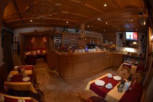 Ein Restaurant oder anderes Speiselokal in der Unterkunft Gafluna