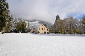 L'établissement La Source en hiver
