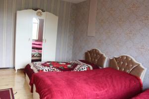 Cama ou camas em um quarto em Villa Roma