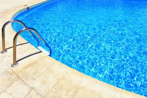 The swimming pool at or near Seafront Silver Waves Mini Hotel & Restaurant & Pool