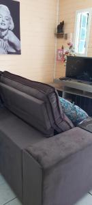 Uma área de estar em Casa na Serra gaúcha