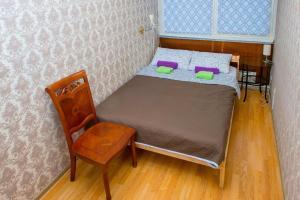 Кровать или кровати в номере Хостел Астра на Арбате