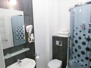 Łazienka w obiekcie Pensjonat Wrzos