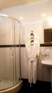 A bathroom at Kroshka Enot Mitino