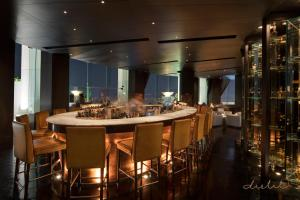 A restaurant or other place to eat at Tower Club at lebua (The World's First Vertical Destination)