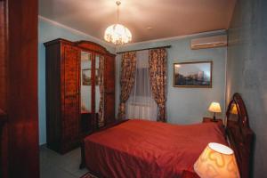 Кровать или кровати в номере Джузеппе Отель