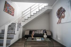 A seating area at Casa de Hospedes Isaias