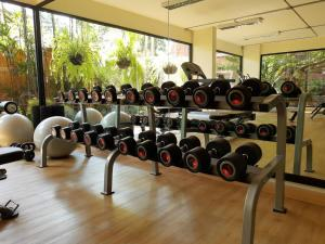 The fitness center and/or fitness facilities at De Naga Hotel, Chiang Mai