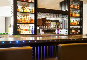 The lounge or bar area at W San Francisco