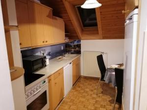Kuhinja oz. manjša kuhinja v nastanitvi Apartment Krek