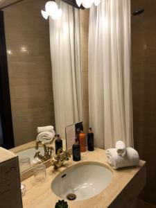 Et badeværelse på Park Hotel