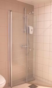 A bathroom at Hotel Montebello