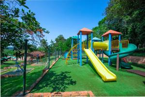 Children's play area at Hotel Colonial Iguaçu