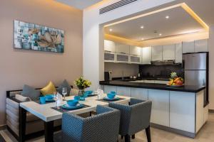 مطبخ أو مطبخ صغير في Dorat Najd Resort - منتجع درة نجد