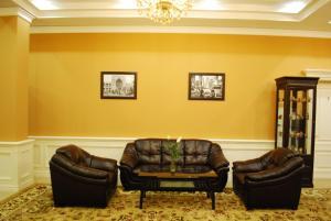 Гостиная зона в Jahon Palace
