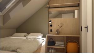 En eller flere senger på et rom på Han Sylte Heimen