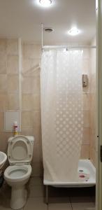 Ванная комната в Central House Hostel