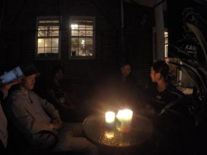 Guests staying at IZA Kamakura Guest House and Bar