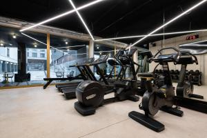 The fitness center and/or fitness facilities at A-STAY Antwerp