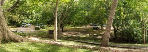Jardín al aire libre en Cabinas Las Olas