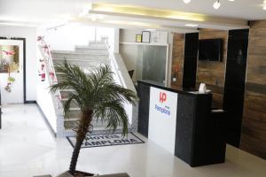 The lobby or reception area at Hotéis Pamplona