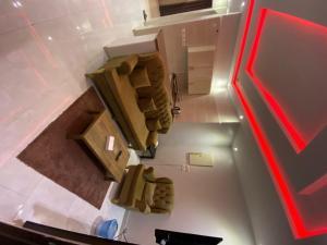 مطبخ أو مطبخ صغير في Adwaa Rafa