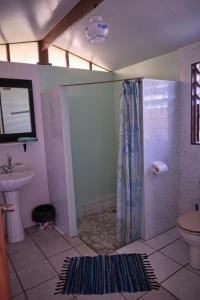 Um banheiro em Inaiti Lodge